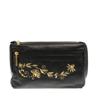 "Leather cosmetic bag ""CAROLINA"""