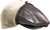 Mens cap made of sheepskin Frank II