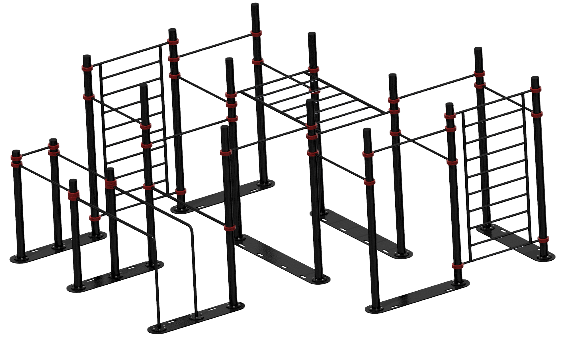 MB Barbell / Mobile sports complex 5.5m x 4.7m x 2.52m (pipe 89mm)
