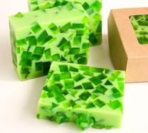 Cream apple - handmade soap