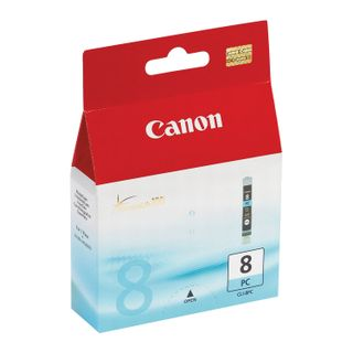 Inkjet cartridge CANON (CLI-8PC) iP6600D / 6700 / MP970 / Pixma 9000, cyan, original, 450 pages.