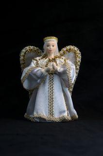 Doll gift porcelain. Angelocesare