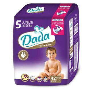 Baby diapers DADA EXTRA CARE JUNIOR (cat. 42 PCs.) , 15-25 kg, No. 5