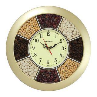 Wall clock TROYKA 11171141, circle,