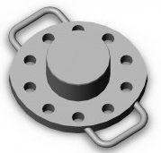 Cylinder cover 4066.53.268.SB for mud pumps, spare parts and equipment UNB-600