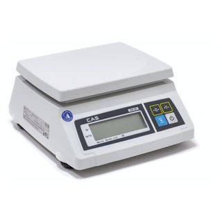 CAS / Filling scales SW-5 (0.04-5 kg) without stand, resolution 2 g, platform 241x192 mm
