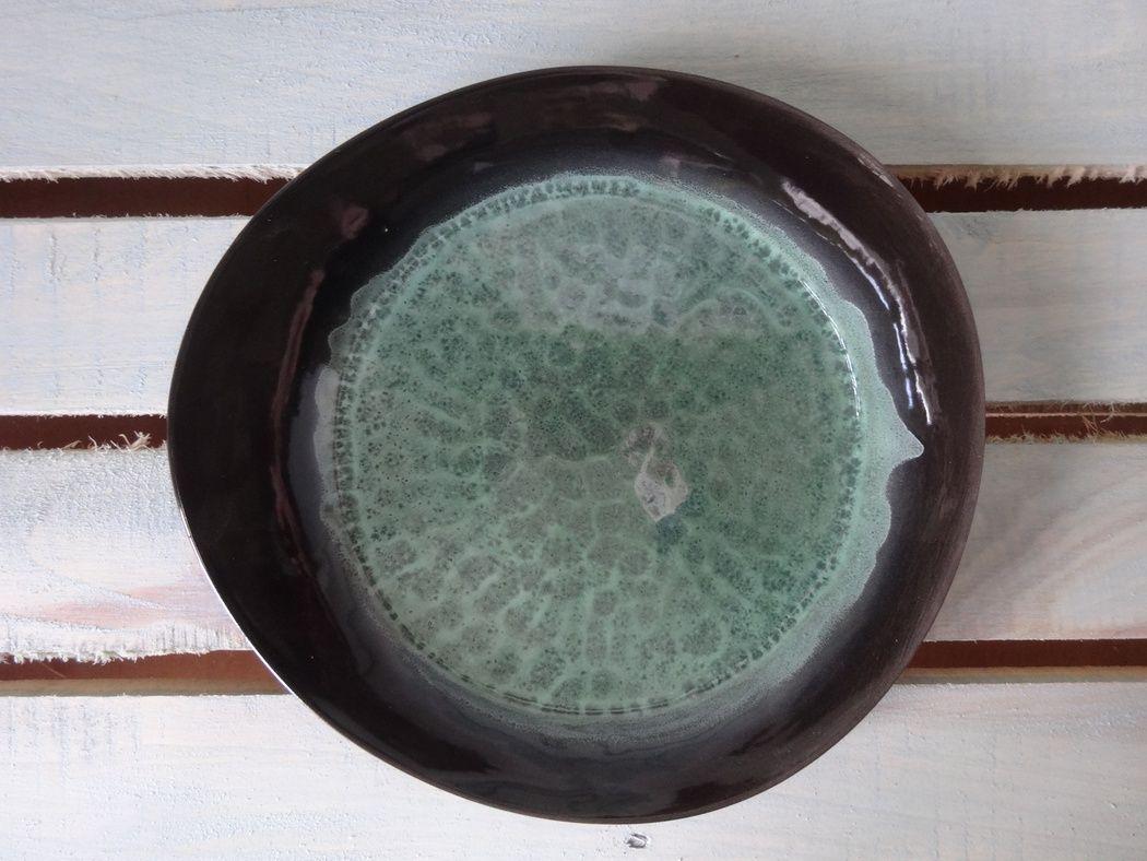 """Horex / Plate """"Verde Notte"""" pietra media 5 pcs."""