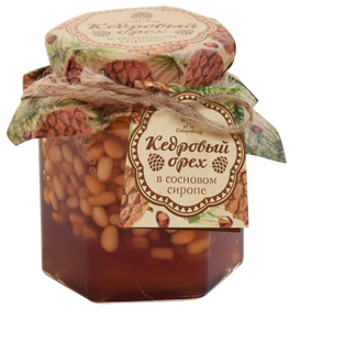 Pine syrup with pine nut kernel 200g