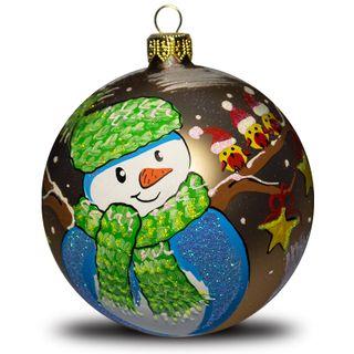 Christmas ball Snowman
