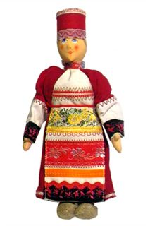 """Mary """"Peasants"""". Doll gift"""
