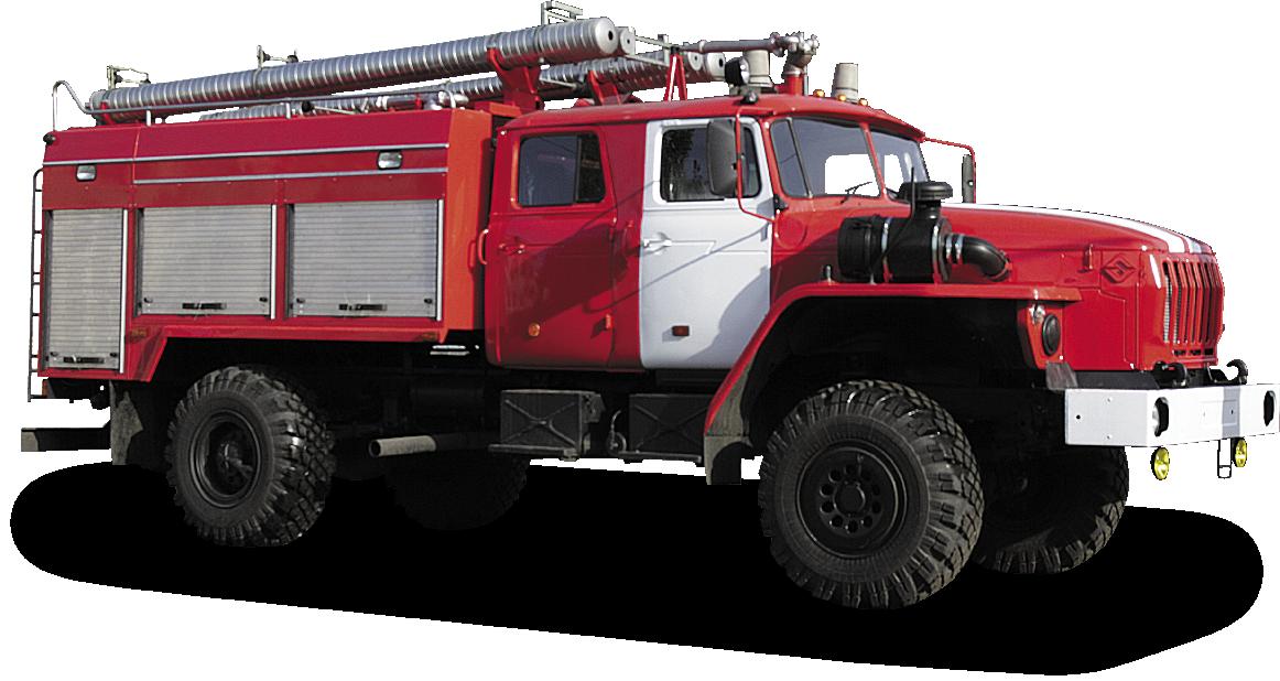 Tank truck fire AC 4 40 URAL-43206