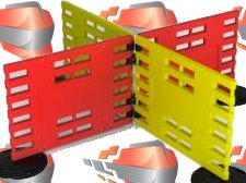 """Barrier fence """"ARGO"""" with a full set of components"""