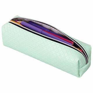 Pencil case-cosmetic bag BRAUBERG, matte, soft,