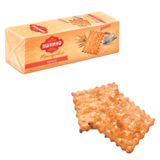 YASHKINO / French cracker biscuits with coconut and sesame seeds, 185 g