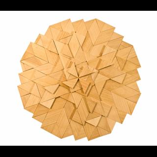 Mosaics of wood, 136 elements, Pelsi