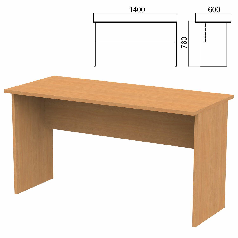"Table written ""Argo,"" 1400 x600 x760 mm, pear aroso"