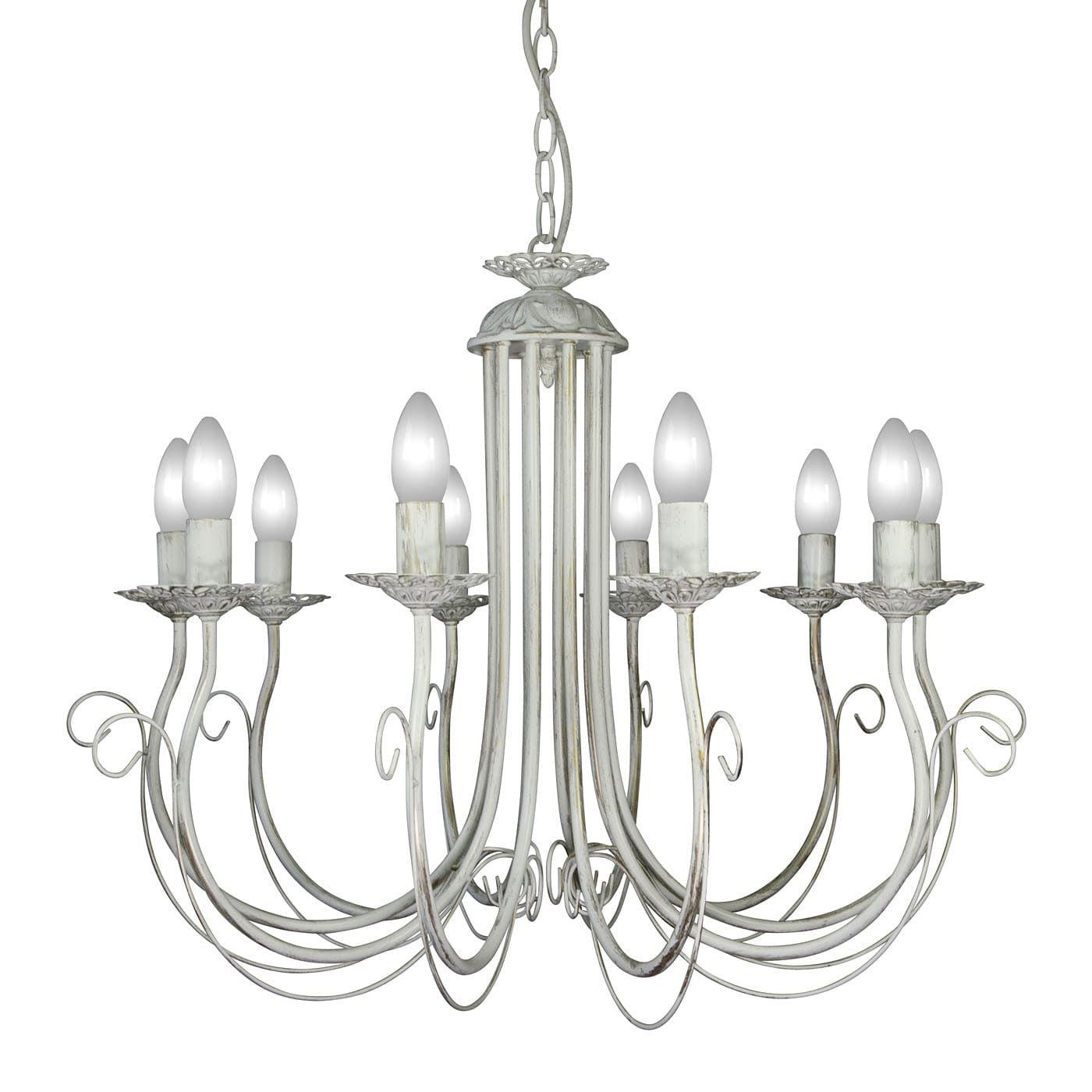 PETRASVET / Pendant chandelier S1166-10, 10xE14 max. 60W
