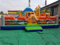 Inflatable trampoline 'Treasure Island'