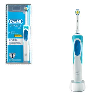 Зубная щетка электрическая ORAL-B (Орал-би) Vitality 3D White D12.513,