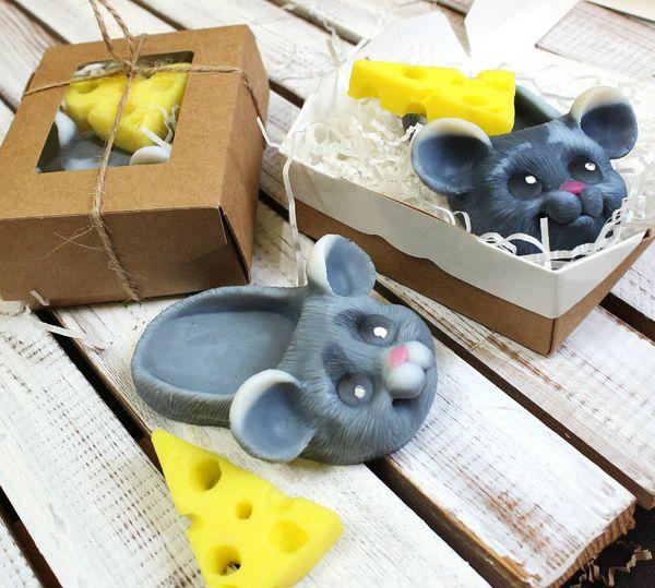Handmade soap kit Home mouse