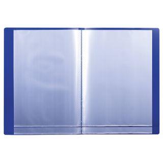 Folder 30 liners BRAUBERG standard, blue, 0.6 mm