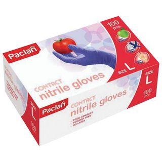 PACLAN / Powder-free nitrile gloves