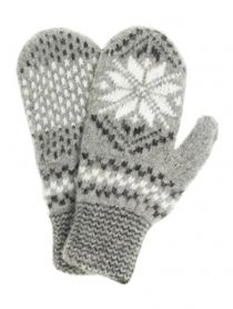Mittens teen 'Star 3 colors' for children 10-12 years