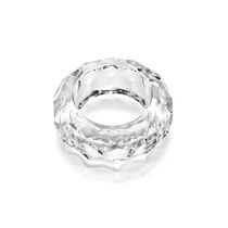 Set of crystal napkin rings, 6 PCs in a gift box