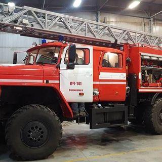 Fire truck with ladder АЦЛ-4,0-60-24 (4320)