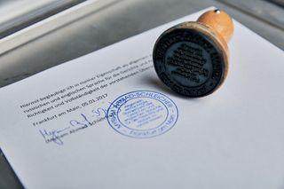 Apostilization of documents