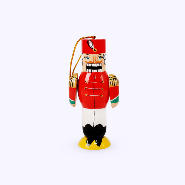 Bogorodsk toy / Wooden souvenir 'Nutcracker', lathe