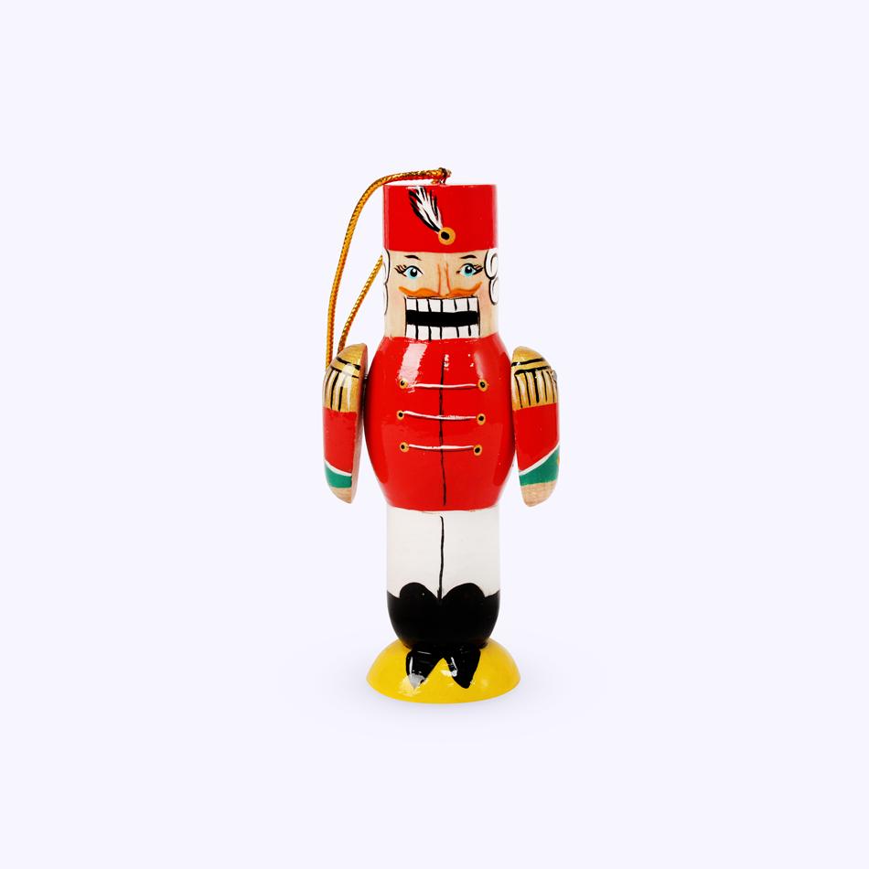 "Bogorodsk toy / Wooden souvenir ""Nutcracker"", lathe"