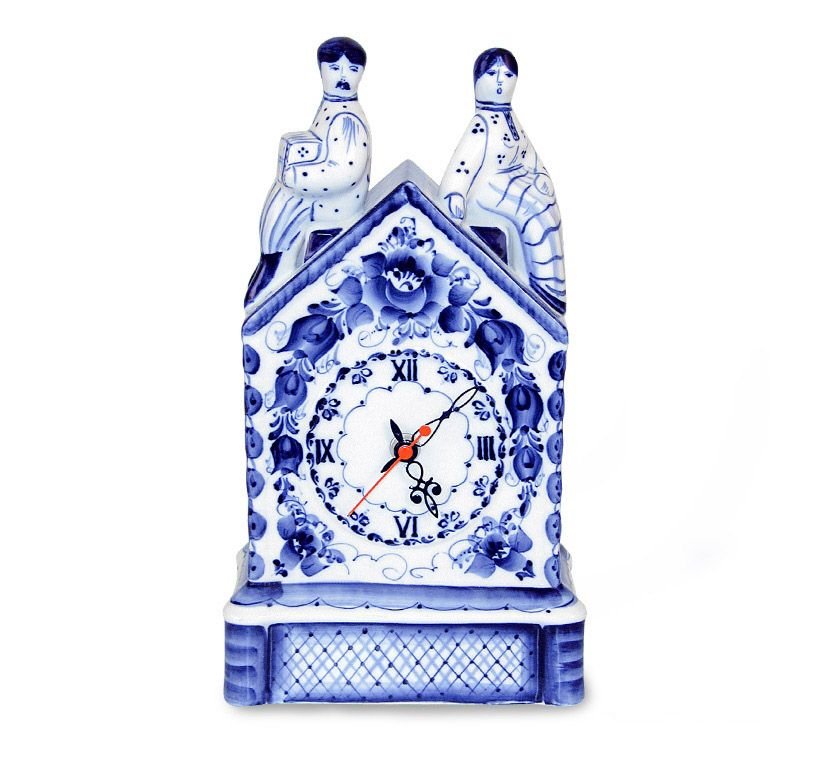 Watch a Date, Gzhel Porcelain factory