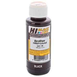 HI-BLACK ink for BROTHER universal, black, 0.1 l, water