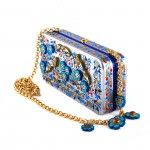 "Jewelery with miniature Bag ""Clutch"""