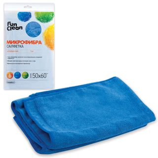 FUN CLEAN / Cloth for cleaning the floor, microfiber, 50x60 cm