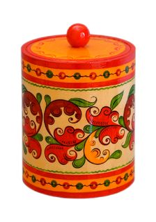 "Wooden barrel ""Boretskaya list"" 12 cm"