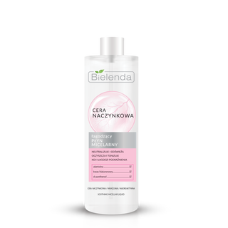 Micellar water for face soothing, BIELENDA CAPILLARY SKIN, 500ml