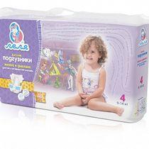 """Diapers """"Lelya"""" №4, 40 pcs."""