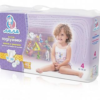 "Diapers ""Lelya"" №4, 40 pcs."