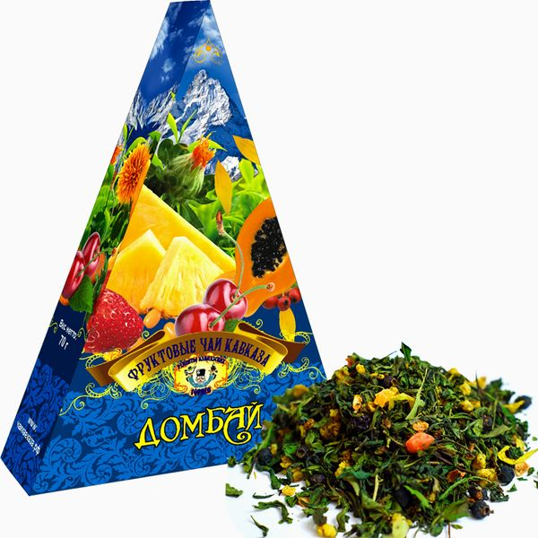 "Fruit teas of Abkhazia / ""Dombay"", 70 gr"