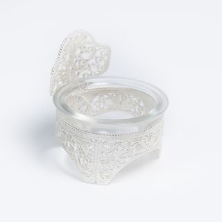 Kazakovskaya Filigree / Salt cellar No. 1 silvering