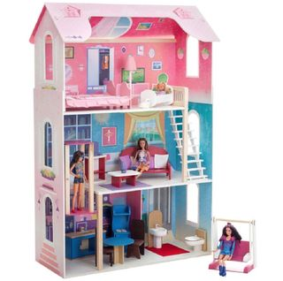 Wooden doll house