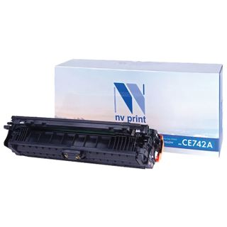 Laser Cartridge NV PRINT (NV-CE742A) for HP CP5220 / CP5225 / CP5225dn / CP5225n, yellow, yield 7300 pages