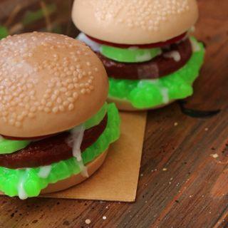 Handmade Soap Hamburger