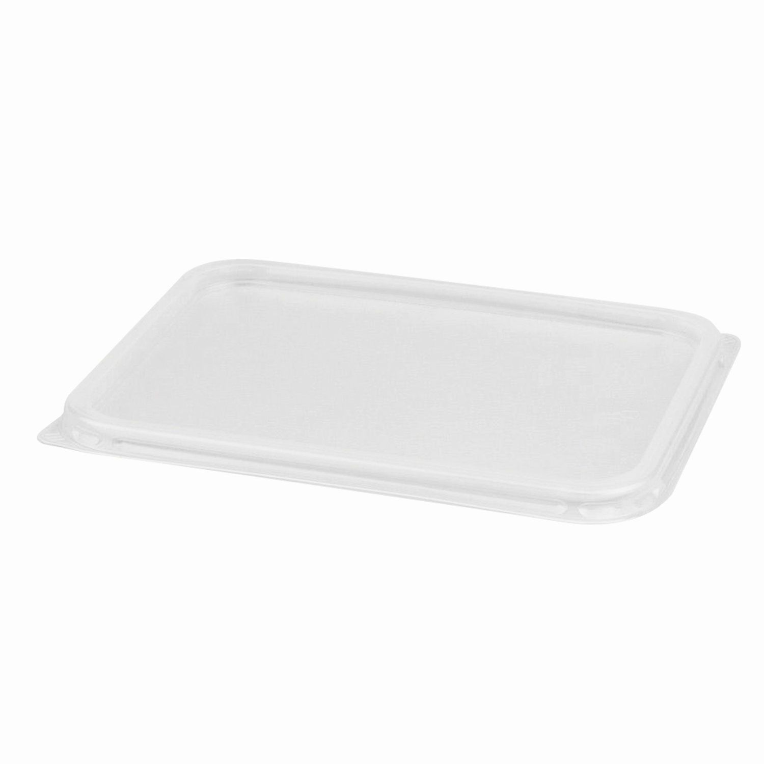 STIROLPLAST / Lids for disposable containers, 179x132 mm, set of 50 pcs., PP (containers 605087, -88, -89, -90)