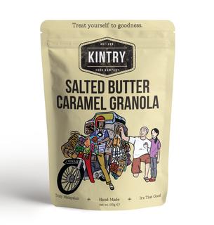 Kintry Salted Butter Caramel Granola