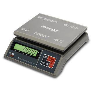 MERCURY / Filling scales M-ER 326AFU-6.01, LCD (0.02-6 kg), resolution 2 g, platform 255x205 mm