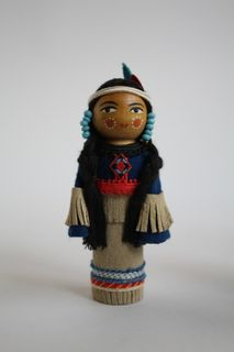 Doll gift. Indian. 20vek. USA.