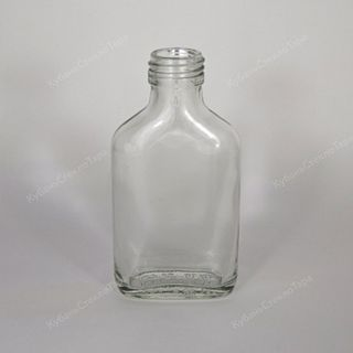 Glass containers. Bottles made of glass